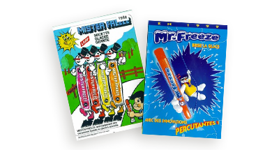 1982 Mr Freeze Packaging