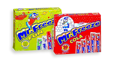 2001 Mr Freeze packaging