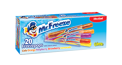 2013 Mr Freeze packaging
