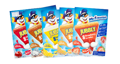 Jubbly Ice-Pops Packaging