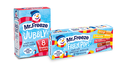 2018 Mr Freeze Packaging