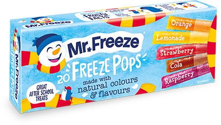 Freeze Pops - 20x45ml