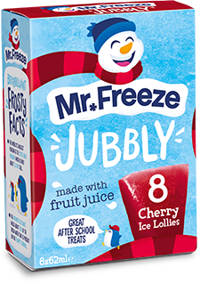 Mr Freeze Jubbly - 8x62ml
