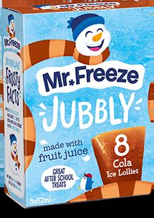 Mr Freeze Jubbly - 8x62ml