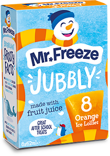 Mr Freeze Orange Jubbly - 8x62ml
