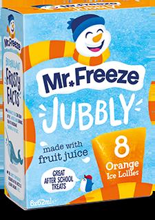 Mr Freeze Orange Jubbly - 8x62ml